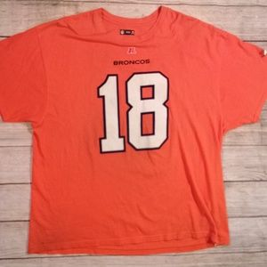 Peyton Manning Bronco's NFL Authentic T-Shirt